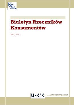 Biuletyn Rzeczników Konsumentów