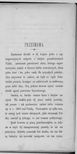 PRZEDMOWA. - Muzeum Historii Polski