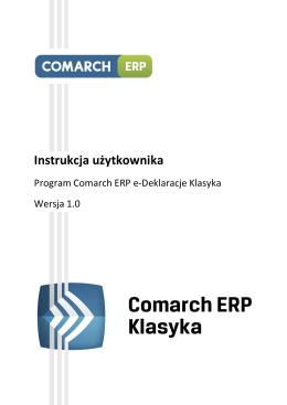 Comarch ERP e-Deklaracje Klasyka.pdf