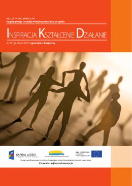 Biuletyn informacyjny 12/2012 - Regionalny Ośrodek Polityki