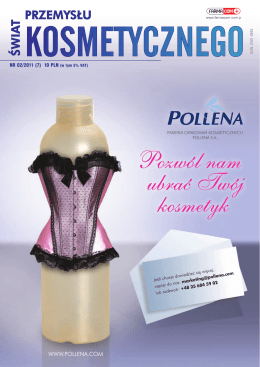 NR 02/2011 - Świat Przemysłu Kosmetycznego