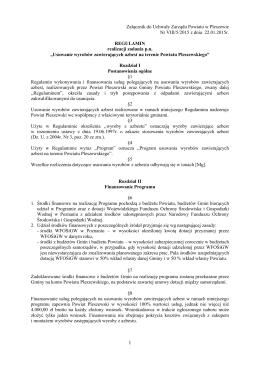 regulamin - Starostwo Powiatowe w Pleszewie