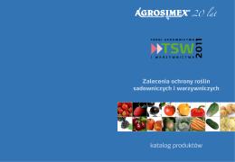 Zalecenia ochrony roślin sadowniczych i warzywniczych