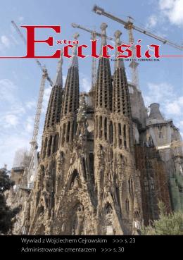 Nr 1 - Extra Ecclesia