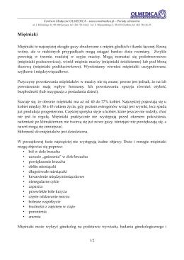 Mięśniaki - Centrum Medyczne OLMEDICA