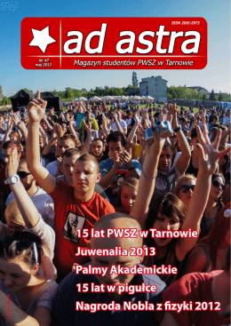 15 lat PWSZ w Tarnowie Juwenalia 2013 Palmy - Ad Astra