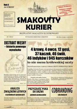 EKSTRAKT MIĘSNY - Smakovity Kurier