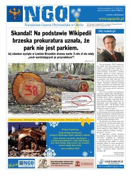 NGO Wydanie Specjalne Nr. 11 - Niezależna Gazeta Obywatelska w