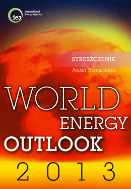 WEO 2013 Executive Summary Polish version