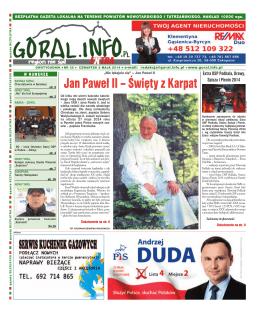 Nr 35/2014 - Goral info