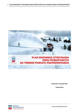 Plan zimowego utrzymania dróg 2015