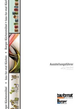 Ausstellungsführer Burger Küchenmöbel • bau-for