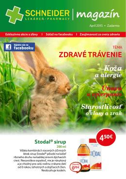 Magazín apríl 2015