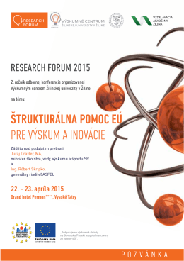 Research forum 2015