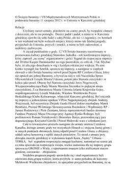 Relacja - Gromada Górali na Śląsku Cieszyńskim