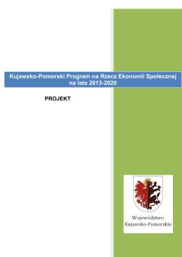 Kujawsko-Pomorski Program na Rzecz Ekonomii Społecznej