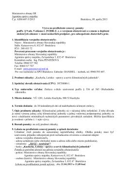Agentúra správy majetku Bratislava - Kuchyňa, Letisko