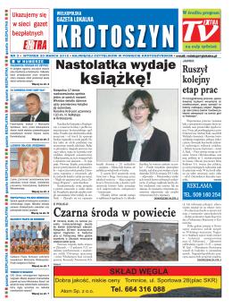 książkę! - Wielkopolska Gazeta Lokalna Krotoszyn