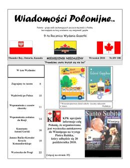 Wrzesień - Polish Winnipeg