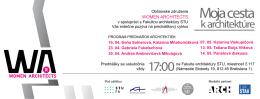 Moja cesta - Fakulta architektúry STU