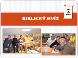 Biblicky- kviz