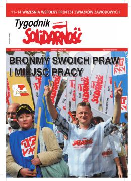 2 wspólny protest związków zawodowych