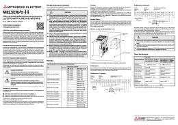Filtr przeciwzakłóceniowy MR-J4 - podręcznik