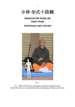 shaolin shi duan jin