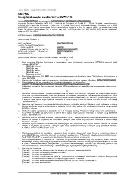 Umowa BZWBK24-B-OS.FIZYCZNA