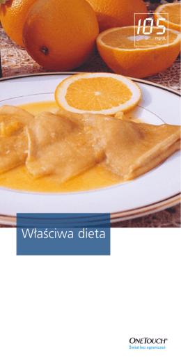 W∏aŹciwa dieta - MojaCukrzyca.org