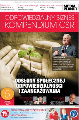Odpowiedzialny Biznes - Kompendium CSR