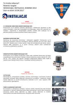 więcej - Instalacje