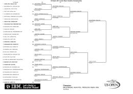 Champion: MAJCHRZAK, Kamil POL / REDLICKI, Martin USA 6-3 6-4
