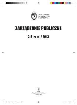 Zarzadzanie Publiczne_2-3_2013.indd - MSAP