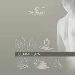 zabiegi SPA - Termy Medical Warmia Park