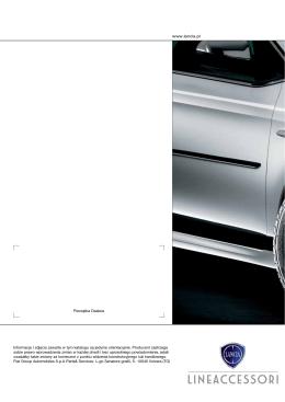 Katalog akcesoriów Delta - Lancia