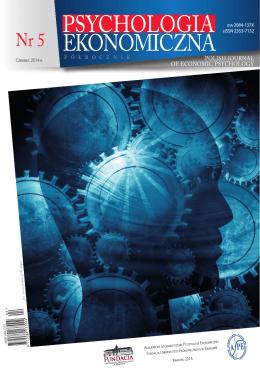 PDF - Psychologia Ekonomiczna