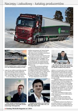 Naczepy i zabudowy_Trailer Magazine 01_2014