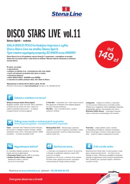 DISCO STARS LIVE vol.11