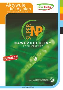 ulotka logotypy SUPER NP
