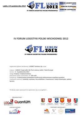IV FLPW 2012-info - Przyjazna motoryzacja