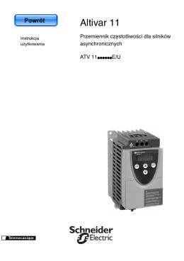 ATV 11 Instrukcja