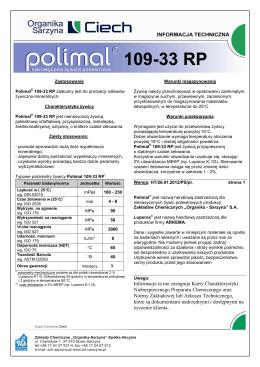 Polimal® 109-33 RP - Organika