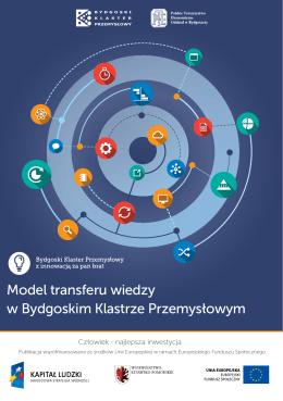 Model transferu wiedzy w Bydgoskim Klastrze Przemysłowym
