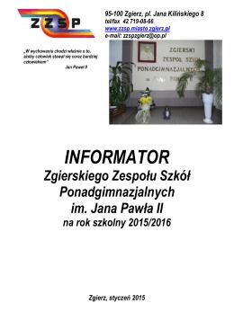 pobierz - Zgierski Zespół Szkół Ponadgimnazjalnych