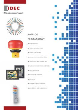Pobierz katalog przeglądowy produktów IDEC