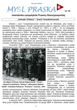 MYŚL PRASKA nr 14.pdf - Prawica Rzeczypsopolitej Warszawa