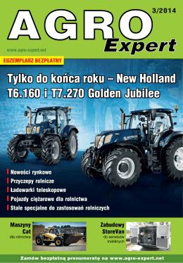 Tylko do końca roku – New Holland T6.160 i T7.270
