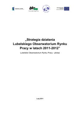 raport- Lubelskie Obserwatorium Rynku Pracy