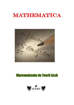 Wprowadzenie do Teorii Liczb